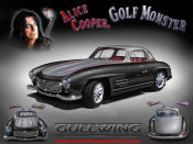 Alice Coopers Mercedes gullwing