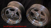 Bogart -The lightest wheels you can buy.  drag wheels  polished aluminum - C5 Corvette