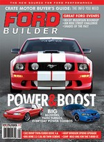 Ford featured in Ford Builder Magazine, brought to you in part by Speed Engineering and Dyno