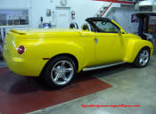 Chevrolet SSR on the DynoJet at Speed Engineering and Dyno