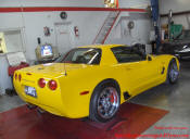 2002 Z06 Corvette Millennium Yellow
